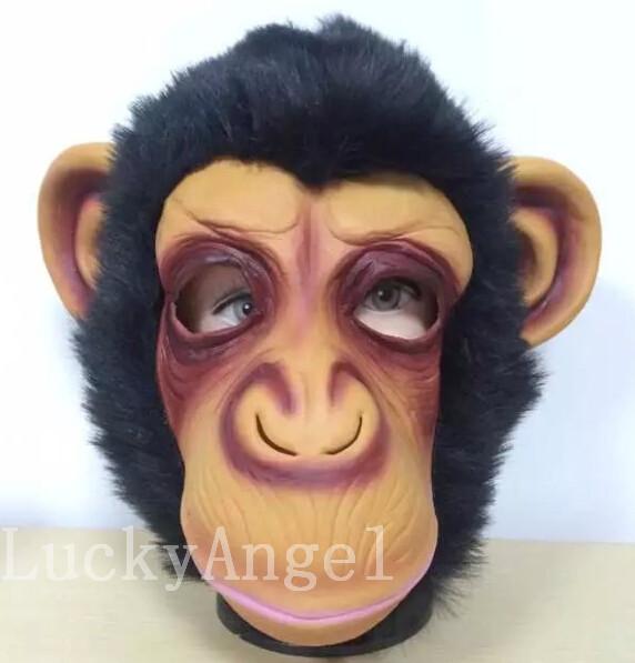 2016 Free shipping Hot Sale Diamond big ears monkey mask gorilla costumes to the West Monkey King Sun Wukong Dragon Ball caps(China (Mainland))