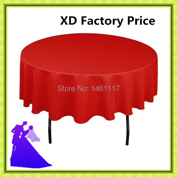 """120"""" hot selling free shipping cheap polyester round table cloth for banquet(China (Mainland))"""