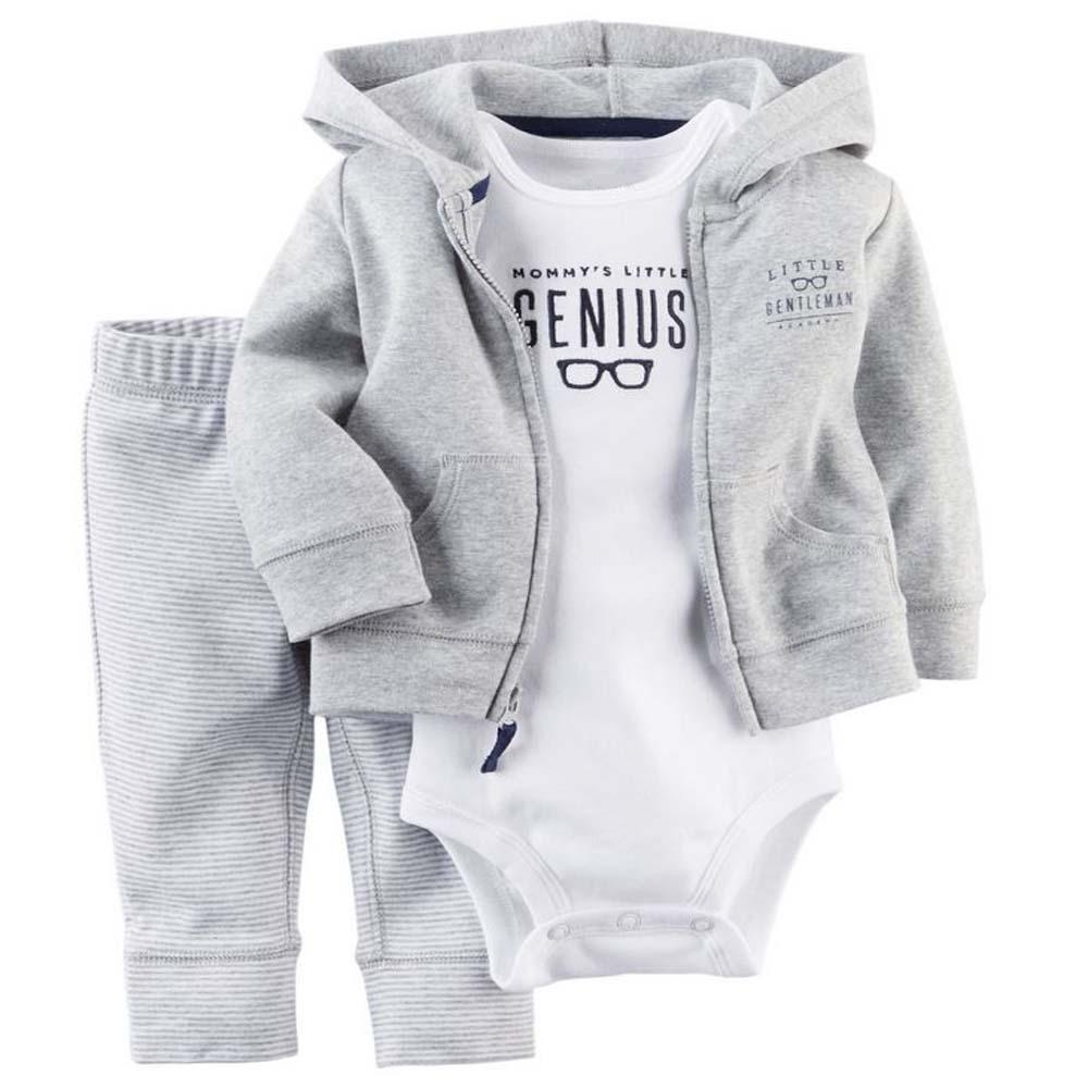 summer spring bebe baby girl ,kids baby boy clothes coat+bodysuit+pant 3 pcs infant boy clothing set,roupas bebes meninos(China (Mainland))