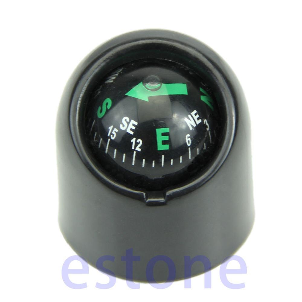 B39 Free Shipping Auto Car Truck Boat Adhensive Sticker Mini Portable Self-adhesive Compass Ball(China (Mainland))
