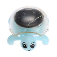 Cute Kids Toys Solar Toy Mini Tortoise Crystal Solar Powered Tortoise Solar Toys for Children(China (Mainland))