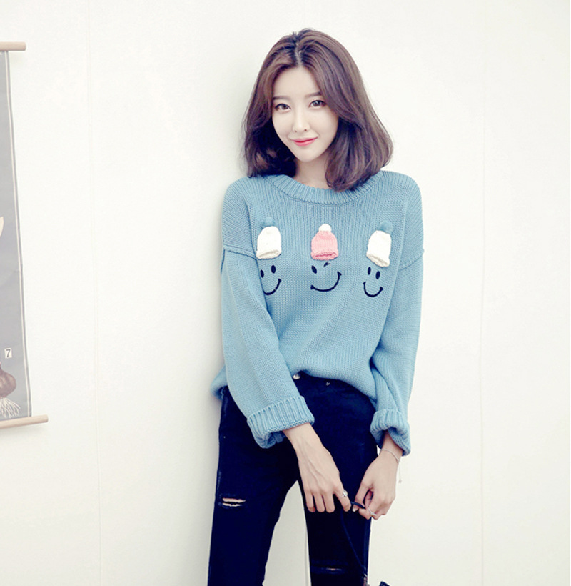 One Piece Knit Sweater Pattern : Smiley Face Sweater Promotion-Shop for Promotional Smiley ...