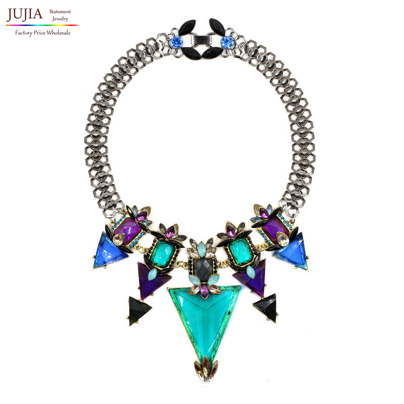 2016 NEW J design fashion necklace collar Necklaces & Pendants trendy choker statement - JUJIA Official Store store