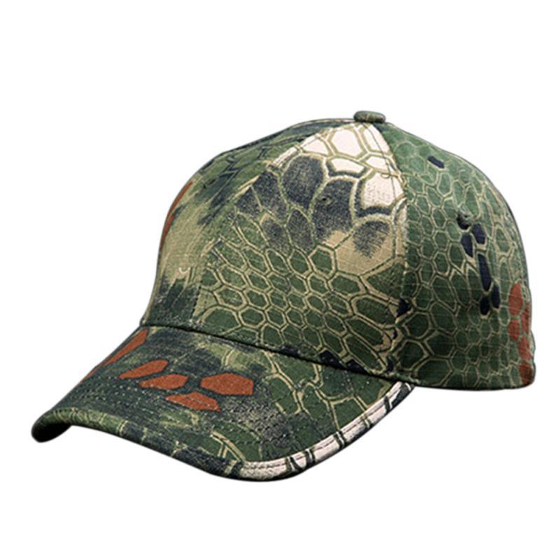 Men Women Baseball Cap Military Tactical Cap Bionic Camouflage Sun Hat Outdoor Hunting Camping Hiking Cycling Peaked Cap HOT(China (Mainland))