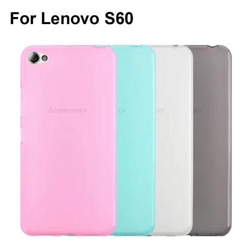 Soft Transparent TPU Phone Case Cover For Lenovo S60 S60T(China (Mainland))