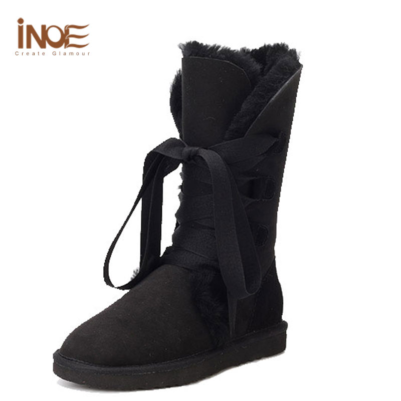 Womens Size 12 Black Winter Boots | Santa Barbara Institute for ...