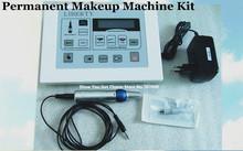 Liberty Permanent Makeup Digital Tattoo Machine & High quality Cosmetic tattoo kit with 2pcs pen and 10pcs needle(China (Mainland))