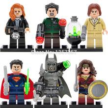Single Sale DC Batman v Superman Dawn of Justice Minifigures Building Blocks Super Heroes Sets Models Figures Bricks Toys