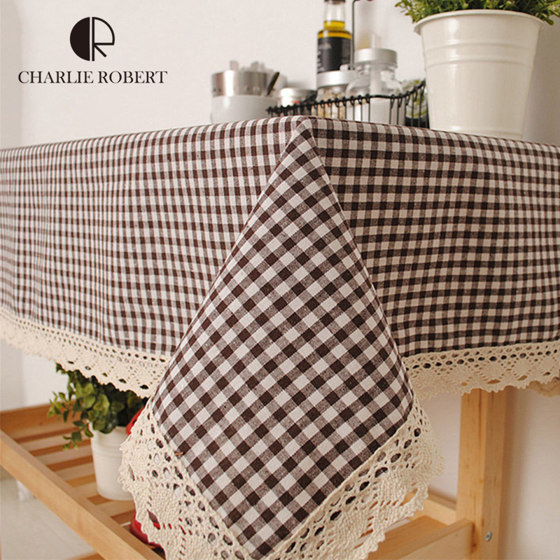2016 New Arrival Table Cloth Fresh Style High Quality Lace Tablecloth Decorative Elegant Table Cloth Linen