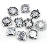 10 Pc Pretty Silver Quartz Roman Numerals Vintage Retro Style for Band Watch Face 151464