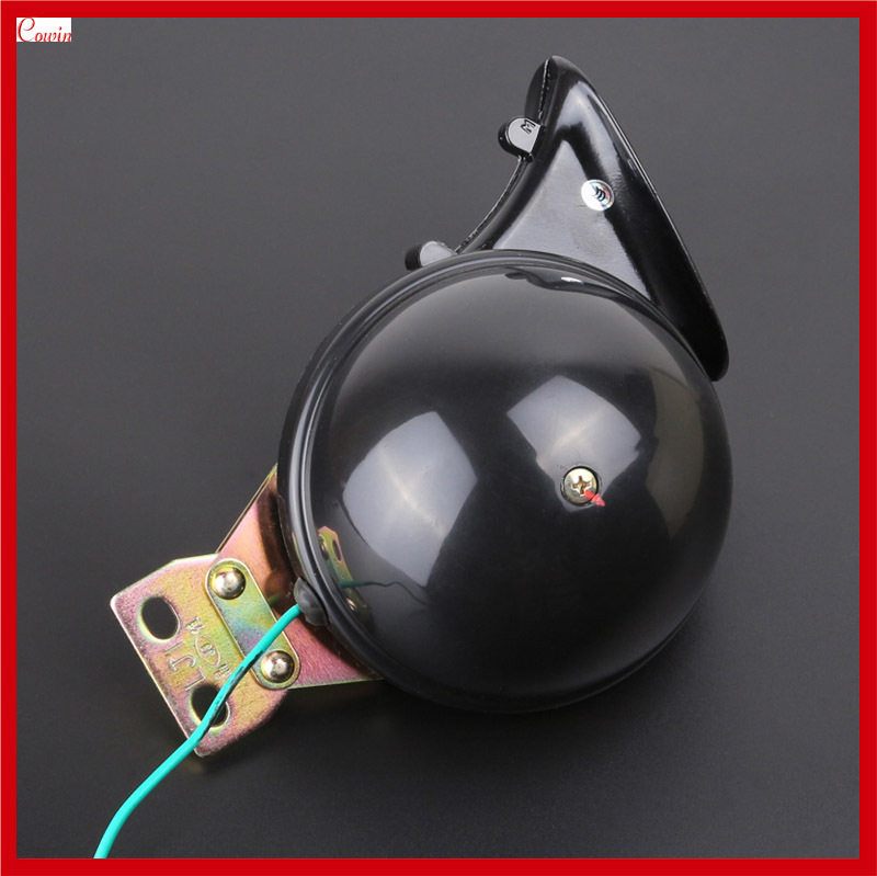 New Waterproof Ultra Loud DC 12v Compact Snail Horn Car Truck Boat Scooter Motorcycle Horn(China (Mainland))