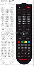 black remote for samsat from samsat remote manfacuter for samsat tv 51 keys  factory with good quality(China (Mainland))