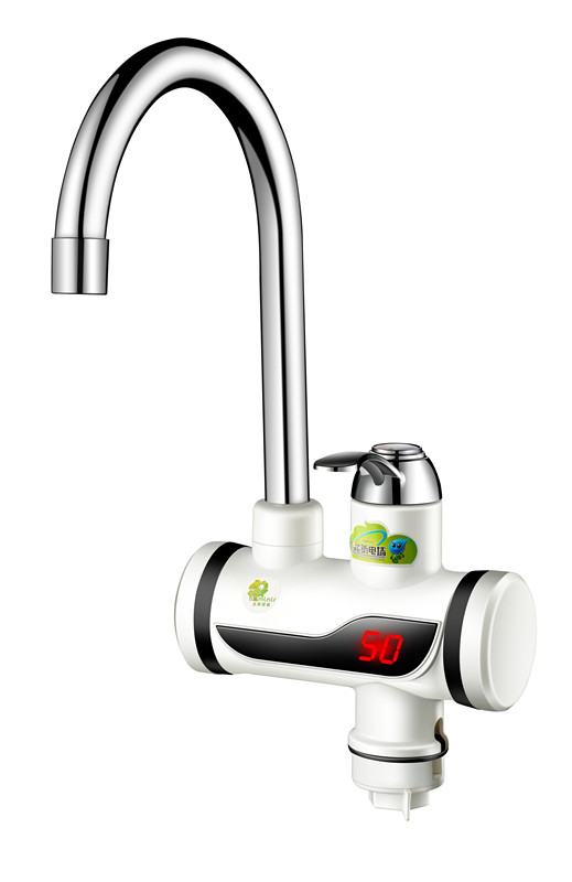 Фотография Tankless Shower Instant Water Heater Tap fast heating eletric faucet Instant digital Shower Faucet  Water tap