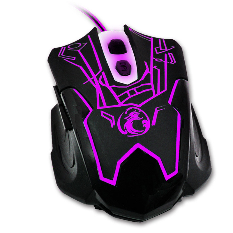 2017 New Professional Game Mice Variety Color 3D Wheel Optical USB Wired Gaming Mouse for PC Computer Laptops Desktops Pro Gamer