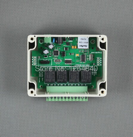 4 road network relay 10A WEB UDP smartphone software control switch(China (Mainland))