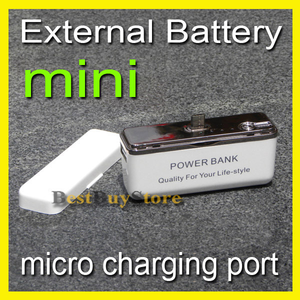 External Battery 2000mah / POWER BANK for SAMSUNG Galaxy S4 S3 S2 / HTC / LG and Motorola mobile, you need it in trip.