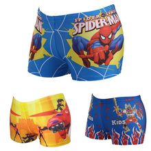 New 2016 Boy Spiderman Swimsuit Fashion Cartoon Swimming Trunks Children Swimwear Kids Summer Beach Bathing Suit maillot de bain