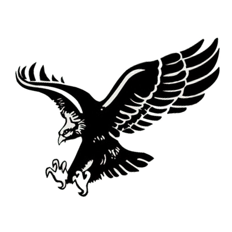 Originality Car Accessories Fancy Car-Styling Flying Eagle Sport Sticker Car-Covers Whole Body Car Stickers And Decals CT-394(China (Mainland))