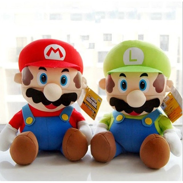 Free shipping new style Super Mario Plush Toys Super Mario Bros Stuffed Toy Soft Dolls For Children High Quality super mario(China (Mainland))