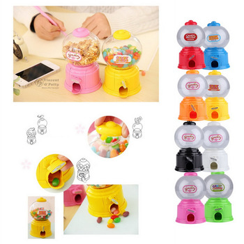 Cute Sweets Mini Candy Machine Bubble Gumball Dispenser Coin Bank Kids Toy Worldwide sale