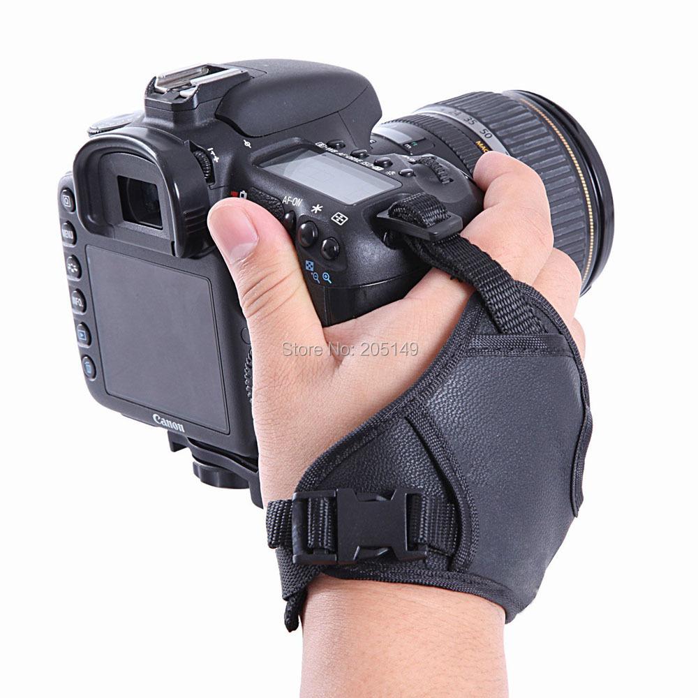 2015 New Camera Wrist Triangle Belt Black for Nikon D90 D5100 D5200 D5300 D3200 D3300 D7000(China (Mainland))