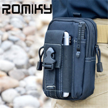 Romiky Military Army Waist Belt Bag Cover Case for samsung s7 s6 edge S8 Plus J2 J3 J5 J7 A3 A5 A7 for iphone 7 6s plus 5s 5 4s(China (Mainland))