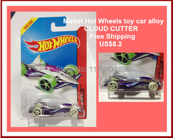 HOT SALE Free Shipping car model, 1:64 car toys, children's toys, alloy car Hot Wheels WHITE F1 RACING CAR CLOUD CUTTER(China (Mainland))
