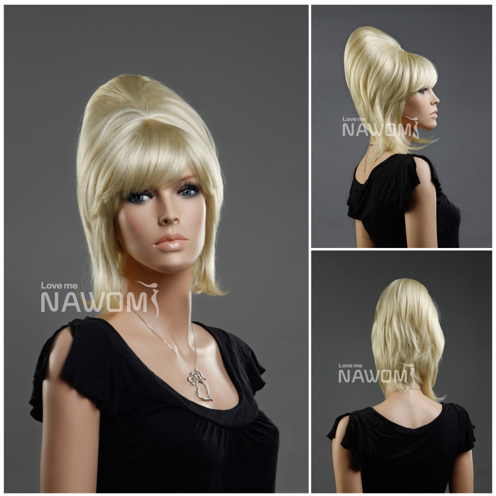 And fully capped female with short blonde wig highest quality fashion wigs Small Orders Online Store  Hot Selling wig  ZL960-613<br><br>Aliexpress