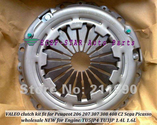 Wholesale Valeo Clutch Kit Fit For Peugeot 206 207 307 308 408 C2 Sega Picasso Engine Tu5jp4