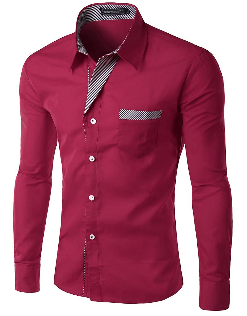 Shirt design boy 2016 - Dropshipping Camisa Masculina Men S Casual Long Sleeve Printing Casual Shirt Slim Fit Men Shirts Camisa Social