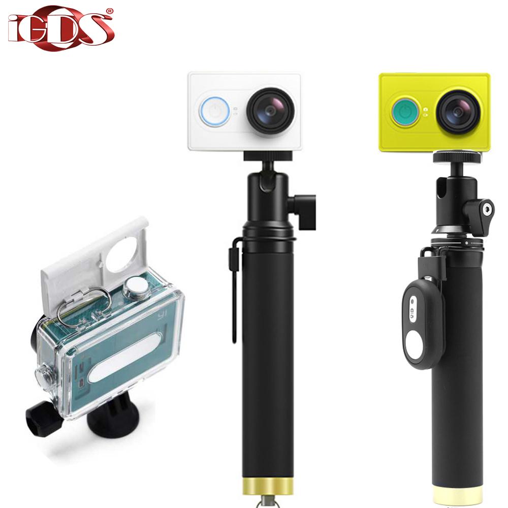 Xiaomi yi Xiaoyi Sports Camera 16MP 1080p/60fps 1010mAh WIFI Bluetooth4.0 underwater Diving 40M waterproof sport Action - iGDSmall store
