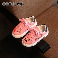 COZULMA אביב ילדי נעליים יומיומיות סניקרס בני בנות ספורט נעלי פעוט ילדים קטנים גדול ילדים בנים חמוד סניקרס נעלי אותיות(China)