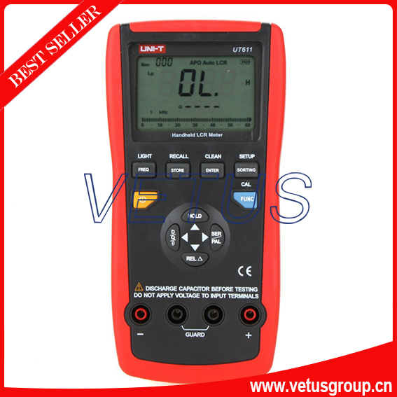UT611 Inductance Capacitance Resistance Frequency Tester LCR meter<br><br>Aliexpress