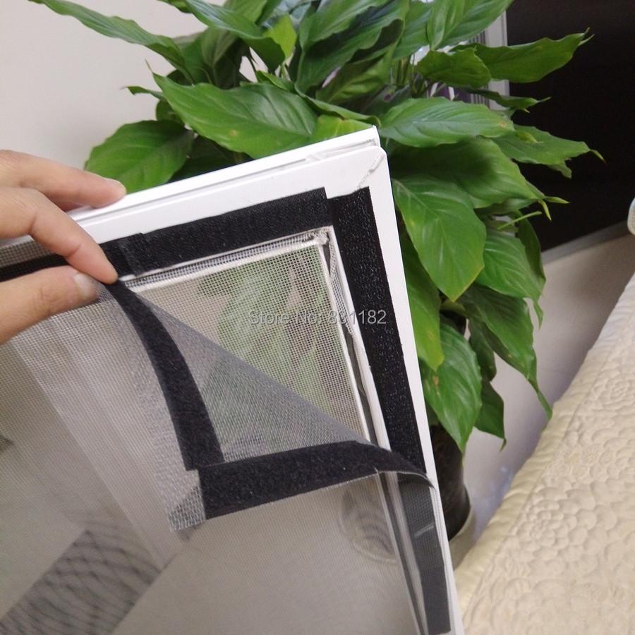 Diy the screen mesh mosquito screen window velcro for Window mesh screen