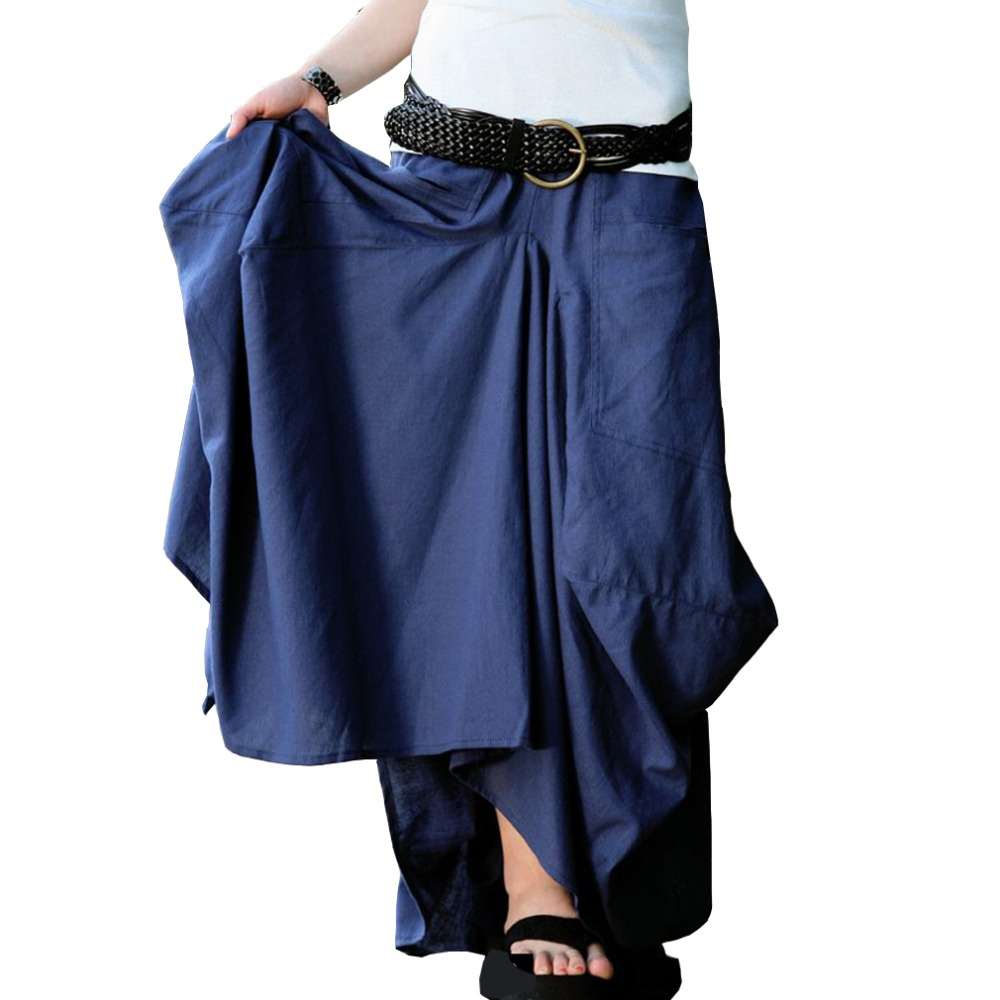 Model Womens Tiered Skirt Sewing Pattern Easy Summer Skirt Pattern