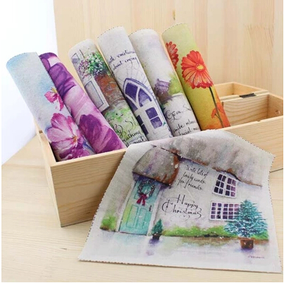 cartoon cotton knit fabric patchwork for apparel sewing & curtain diy felt fabric printing materials cloth doll textile patterns(China (Mainland))