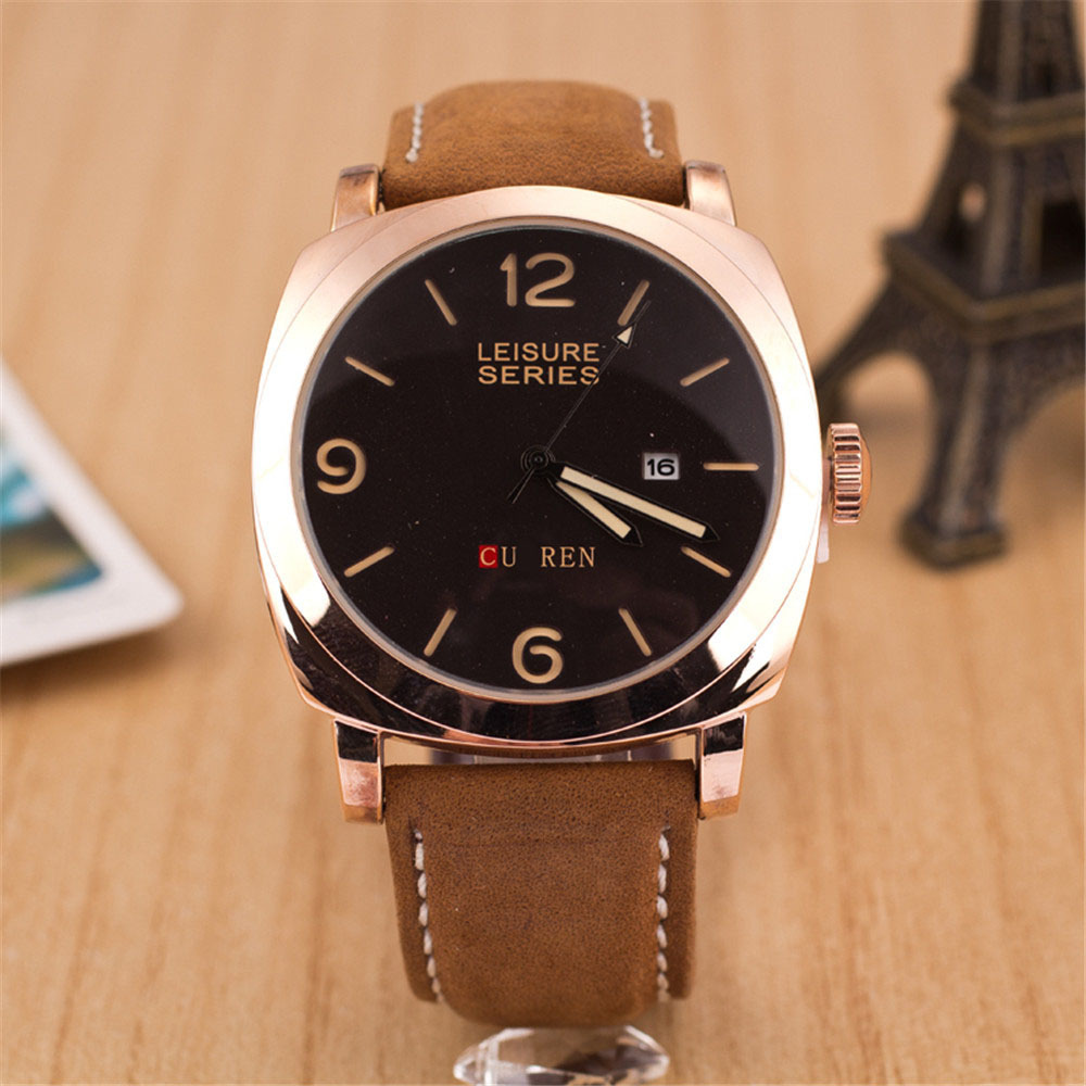 Fashion Sports Watches Large dial Men Watch Quartz Watch 2 colors kare2