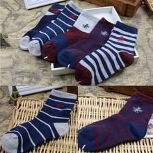 3-10 Years Old Children Diamond Plaid 100% Cotton Socks For Baby Boy Socks 2016 New Spring Autumn High Quality Kids Winter Socks(China (Mainland))