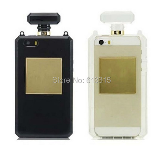 1pc Fashion Perfume Bottle TPU Silicone Soft Case Cover Apple iPhone 4 4S - Adapter-cable's store