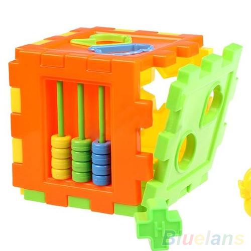 Kid Educational Play Games Animal Shape Alphabet Block Cube Toddler Baby Toy 1U4I(China (Mainland))