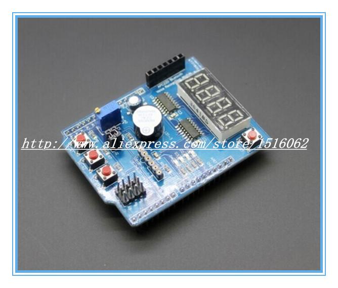 1pcs/lot Multifunctional expansion board kit based learning for arduino UNO r3 LENARDO mega 2560 Shield
