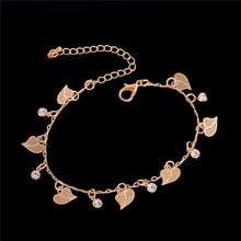 H: ハイド甘いシンプルな蝶の形アンクレットブレスレットチェーン Ankel ビーチフットサン(China)