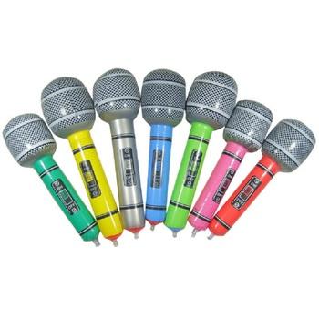 Новый горячий надувные микрофон взорвать пение ну вечеринку время рок звезды диско игрушка дети дети подарков ну вечеринку поставки