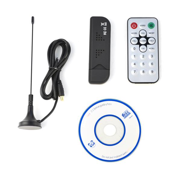 Dvb t2 RTL-SDR / FM+DAB / DVB-T USB 2.0 Mini Digital TV Stick DVBT Dongle SDR with RTL2832U & R820T Tuner Receiver + Remote(China (Mainland))