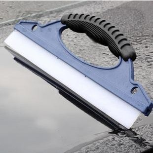 Silicone and plastic Water Wiper Scraper Blade Squeegee Car Vehicle Windshield Window Washing Cleaning brush(China (Mainland))