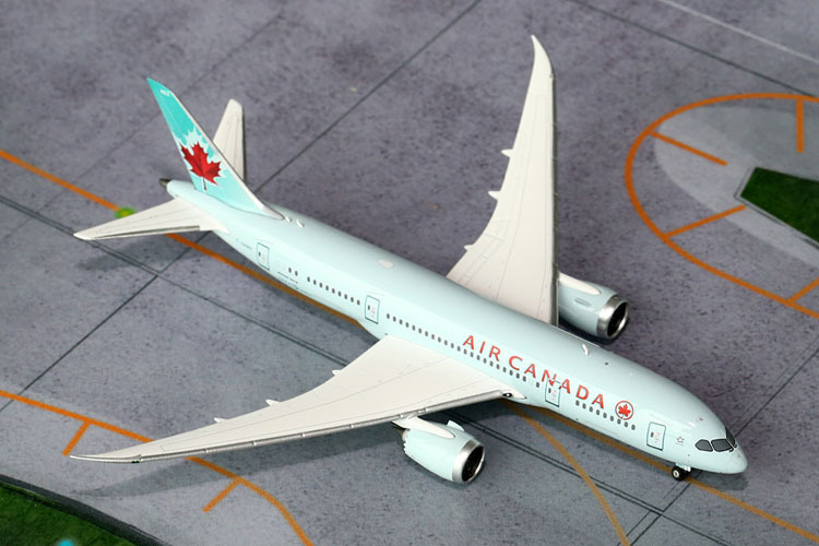 Free Shipping Air Canada B787-8 C-GHPT Airplane 1:400 Scale Models Figures Brinquedos Plane Model Classic Toys For Children(China (Mainland))