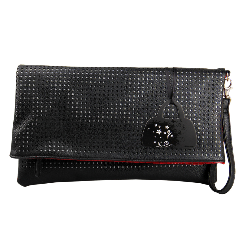 VEEVAN New Arival Designer Clutch Famous Brand Women Clutch Bags Fashion Crocodile Grain Women Handbag Hollow Out Day Clutches(China (Mainland))