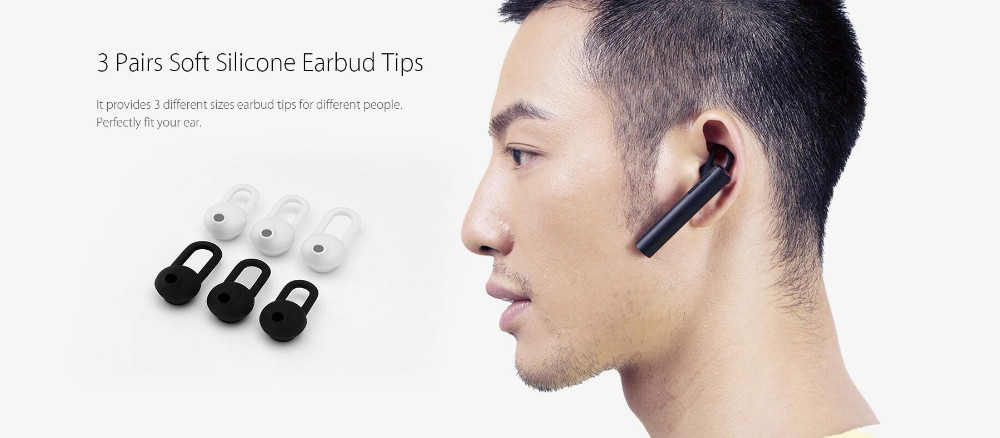 Original Xiaomi Bluetooth Youth Earphone  Hands Wireless Headphones Youth Edition Headset Built-in Mic Xiaomi White and Black