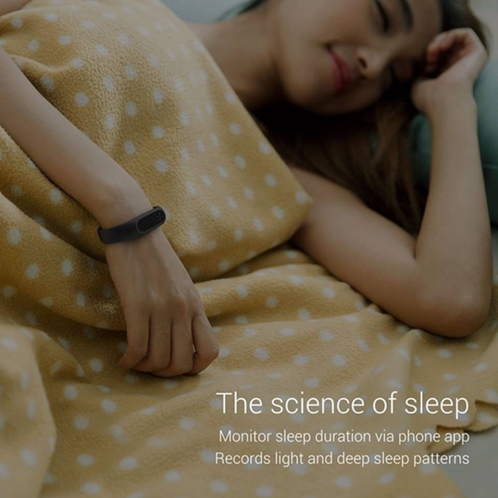 image for Original Xiaomi Mi Band 1S Heart Rate Sensor Smart Wristband Miband Br