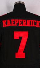 Elite Men's jerseys 7 Colin Kaepernick jersey 35 Eric Reid 28 Carlos Hyde 53 NaVorro Bowman Jerry Rice joe montana Anquan Boldin(China (Mainland))